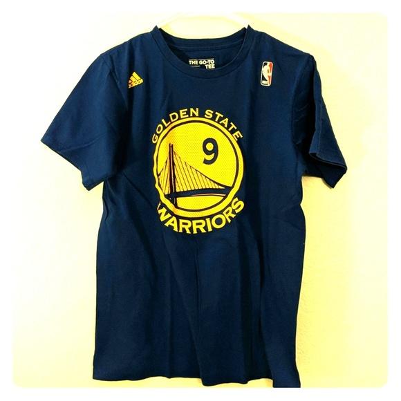 best website f3d68 ea17b Adidas Golden State Warriors Iguodala Shirt Jersey